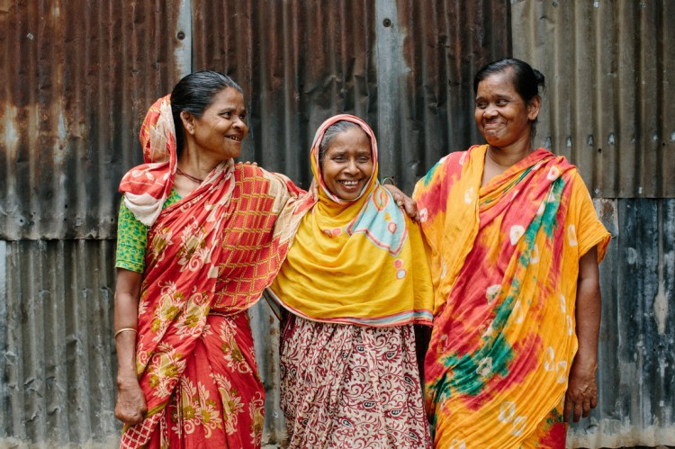 Friends for life - three women affected by leprosy